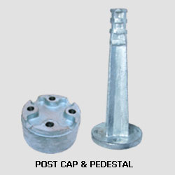 Post Cap & Pedestal